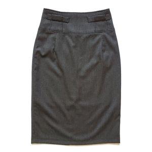 Butik Dayi High Waist Pencil Skirt Gray Size 6